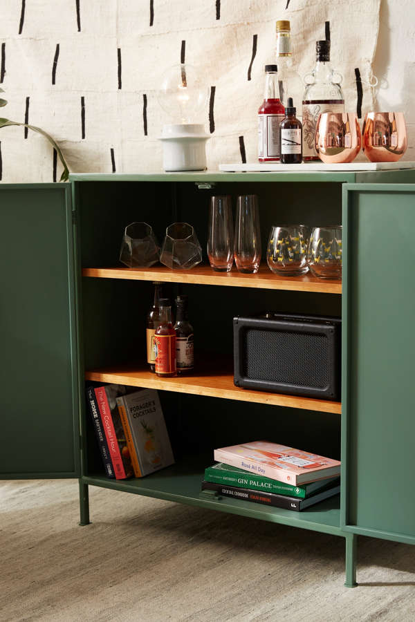 Fulton Metal Storage Cabinet Urban Outfitters