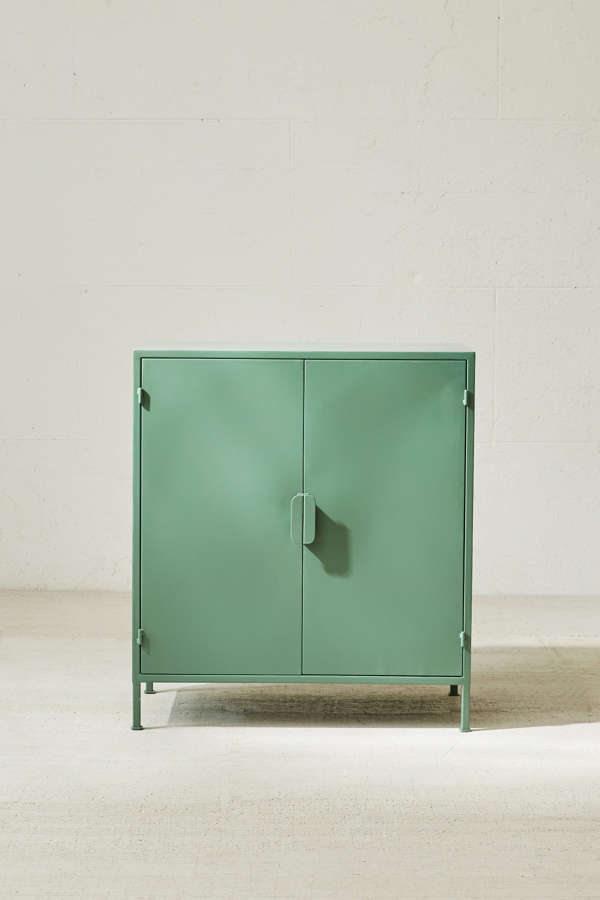 Slide View 3 Fulton Metal Storage Cabinet