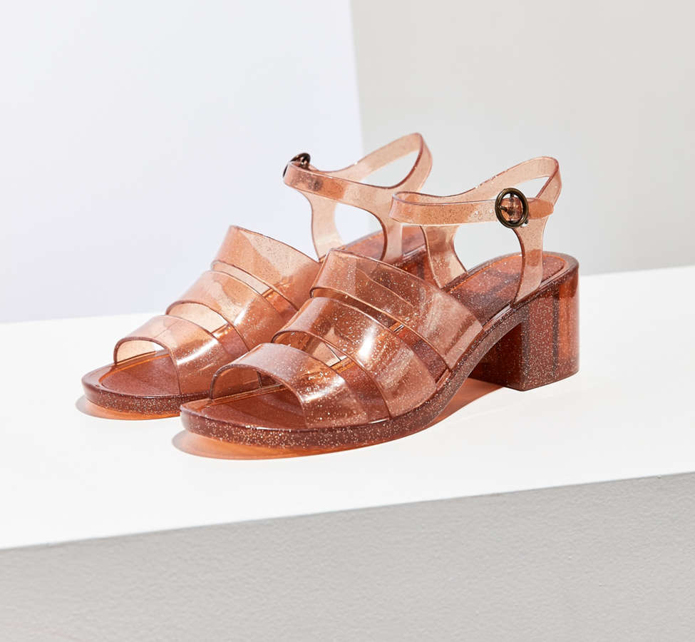 Slide View: 2: Jelly Quarterstrap Heel