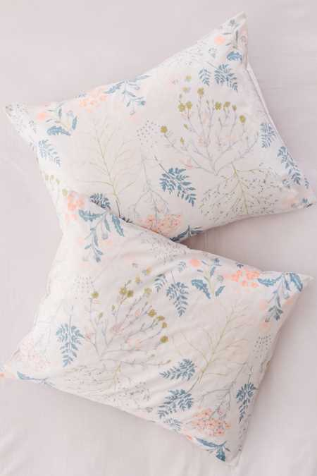 Lillian Floral Sham Set