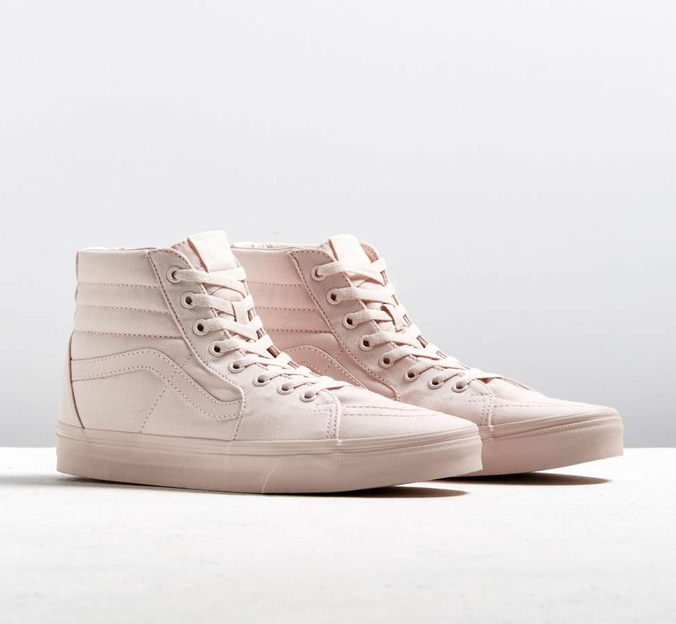 Slide View: 1: Vans Sk8-Hi Mono Canvas Sneaker