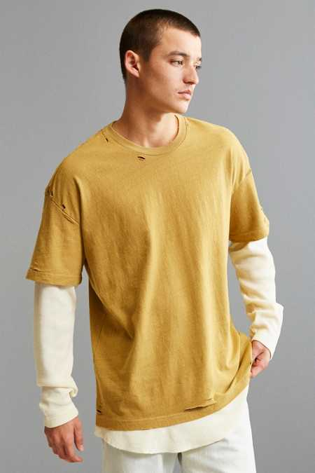 Scout Layered Taupe Thermal Long Sleeve Tee