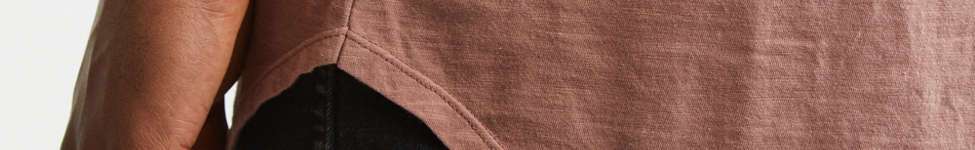 Thumbnail View 2: Slub Droptail Solid Henley Tee