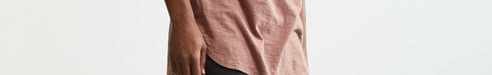 Thumbnail View 6: Slub Droptail Solid Henley Tee