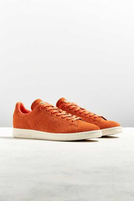 adidas Stan Smith Red Suede Sneaker