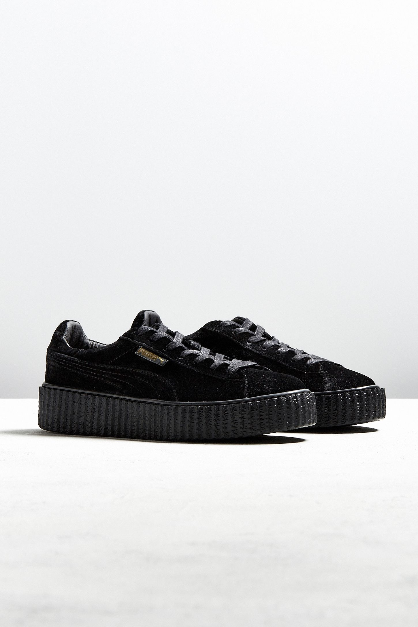 Puma Fenty by Rihanna Women s Velvet Creeper Sneaker  cd4f8d2b7
