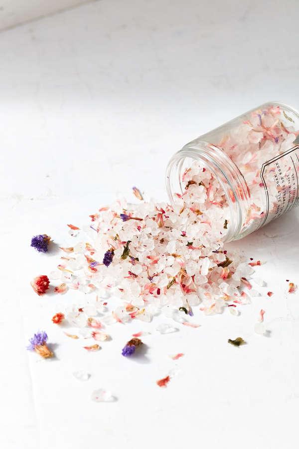 Rose Petal Bath Salt Soak