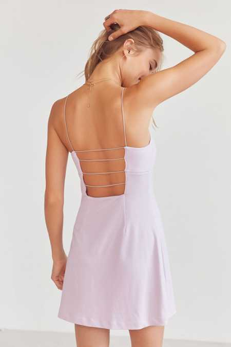 Silence + Noise Thin Strap A-line Dress