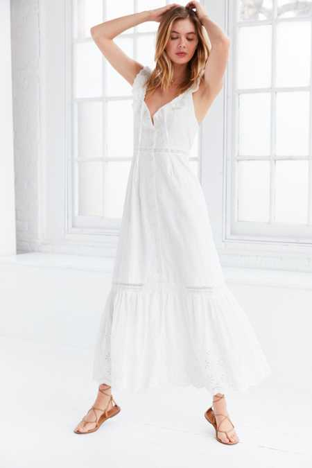 Somedays Lovin' Heart Eyelet Maxi Dress