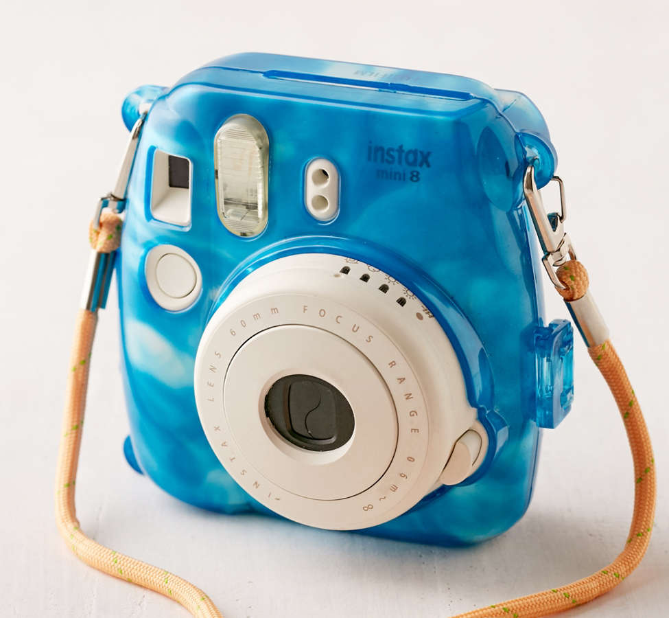Slide View: 1: Fujifilm Instax Mini Marbled Waters Hard-Shell Camera Case