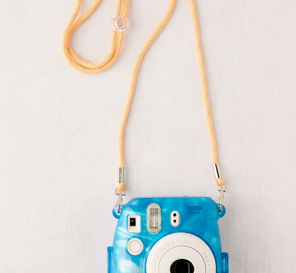 Slide View: 2: Fujifilm Instax Mini Marbled Waters Hard-Shell Camera Case
