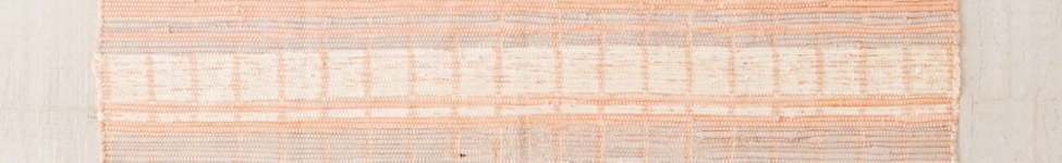 Thumbnail View 1: Anza Knotted Trim Dye-Stripe Rug