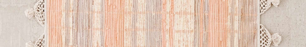 Thumbnail View 4: Anza Knotted Trim Dye-Stripe Rug