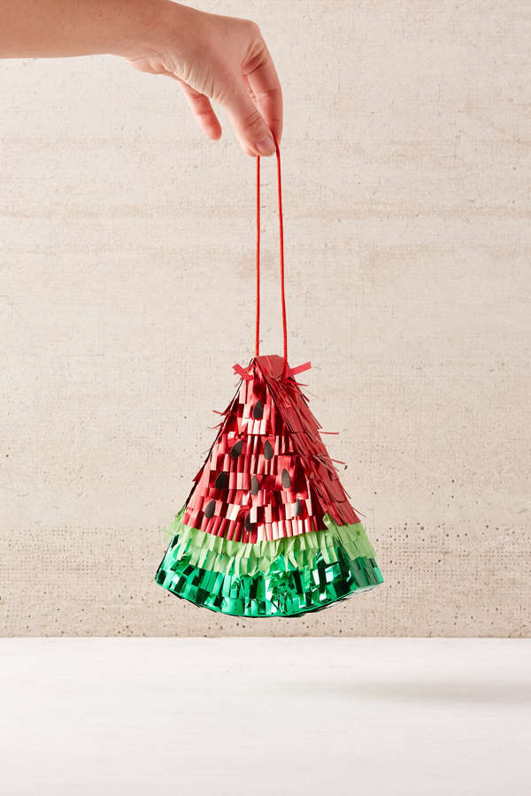 Mini Watermelon Pinata Urban Outfitters - Christmas Tree Pinata