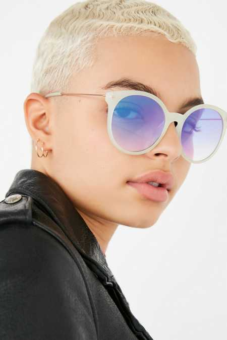 Super Slim Round Sunglasses
