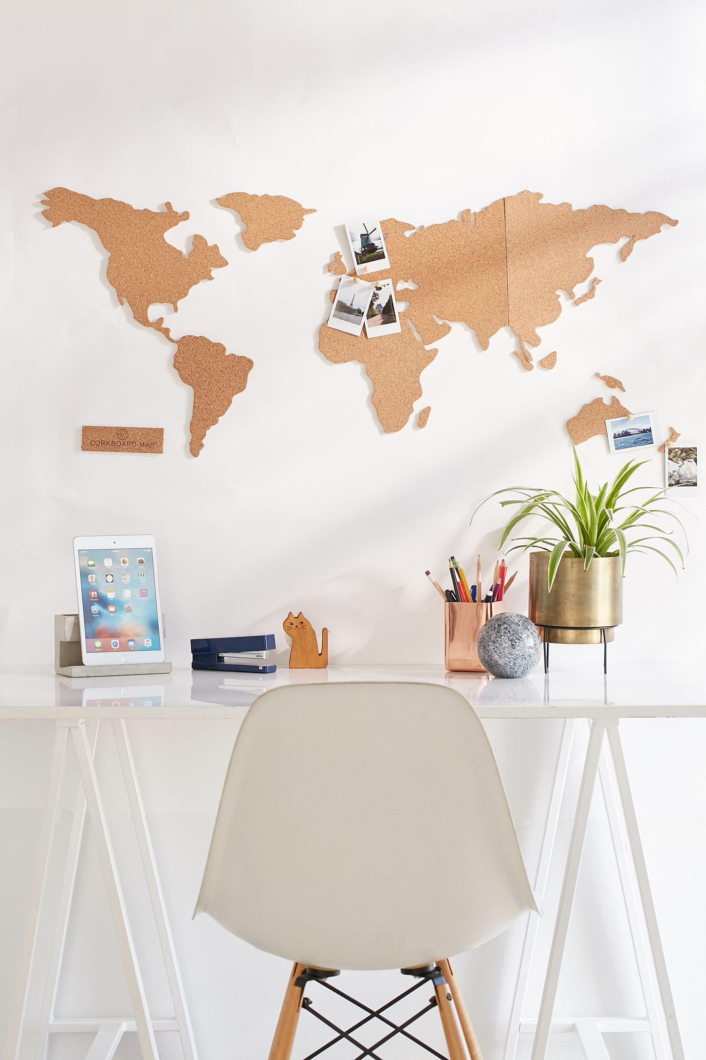 Cork board world map urban outfitters canada double tap to zoom gumiabroncs Gallery