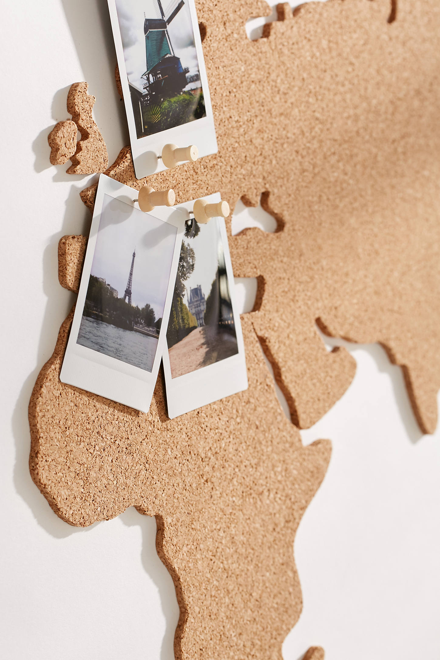 Cork Board World Map