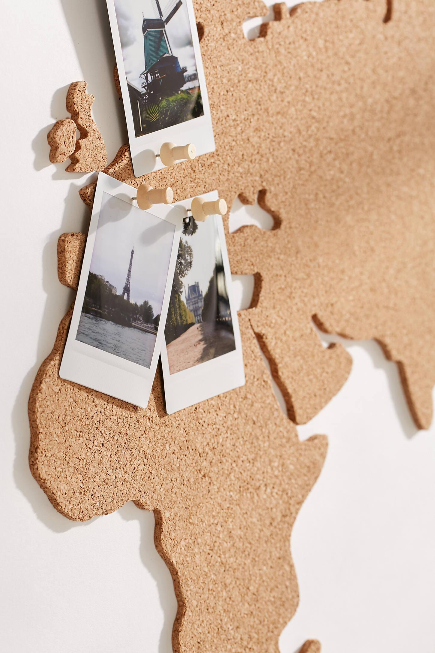 Cork Board World Map Urban Outfitters - Corkboard us map