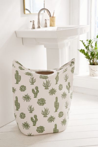 Cactus Standing Laundry Bag Hamper Urban Outfitters
