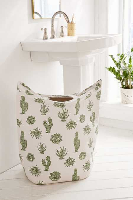 Cactus Standing Laundry Bag Hamper