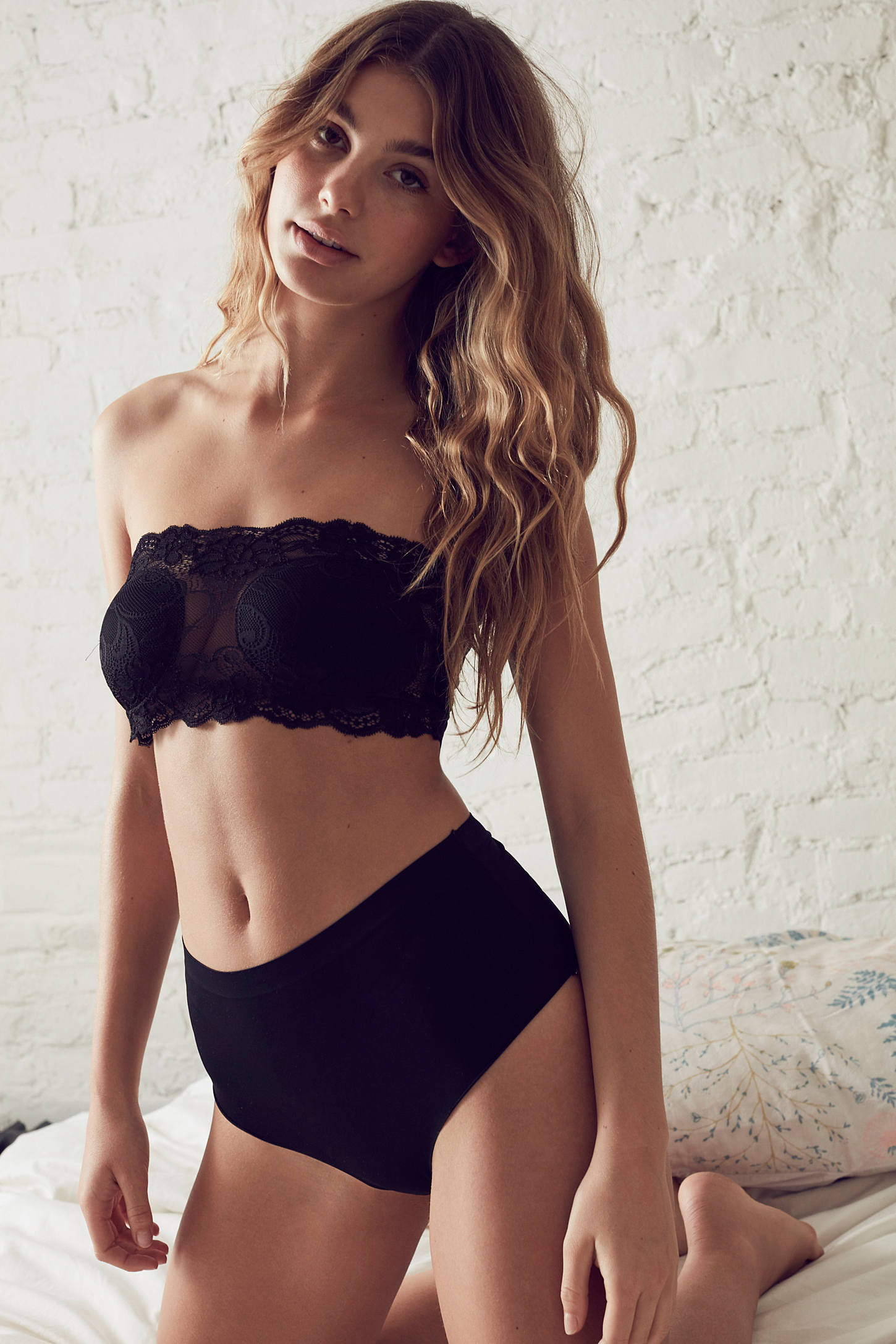 Out From Under Lilli Lace Bandeau Bra | Urban Outfitters