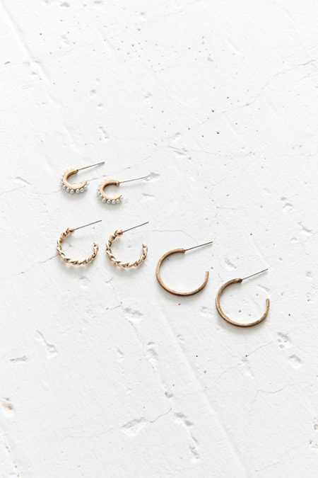Aria Hoop Earring Set