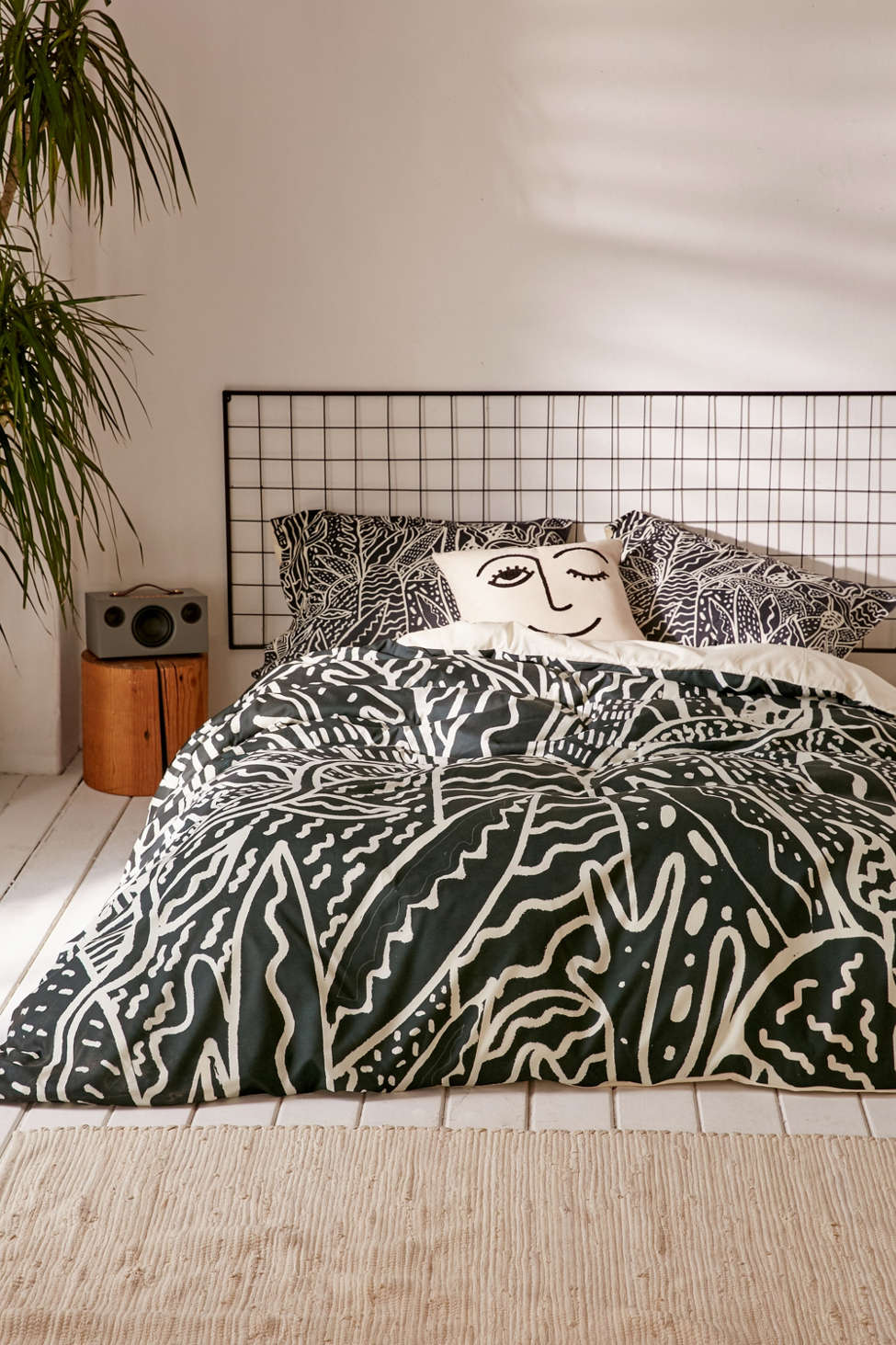 Slide View: 1: Kris Tate For DENY The Garden Duvet Cover