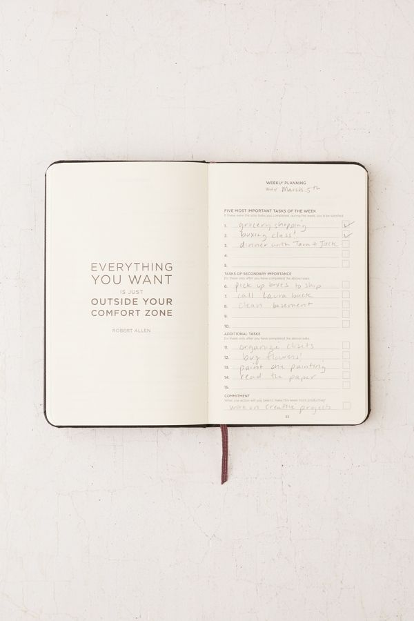 Productivity Planner Urban Outfitters - Productivity planner review