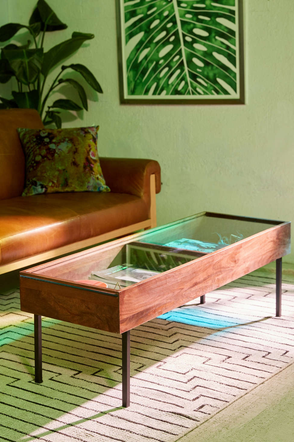 shadowbox coffee table | urban outfitters
