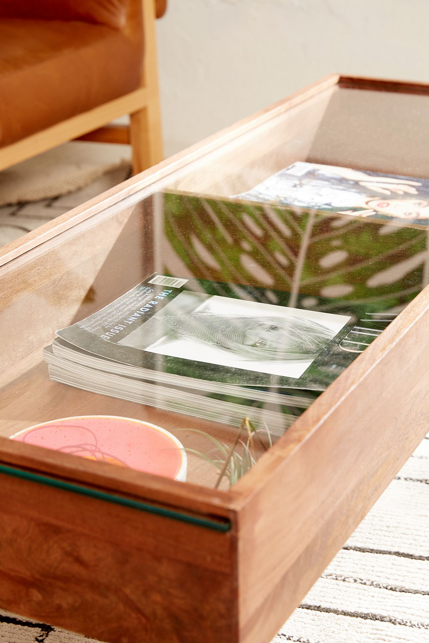 Slide View 6 Shadowbox Coffee Table