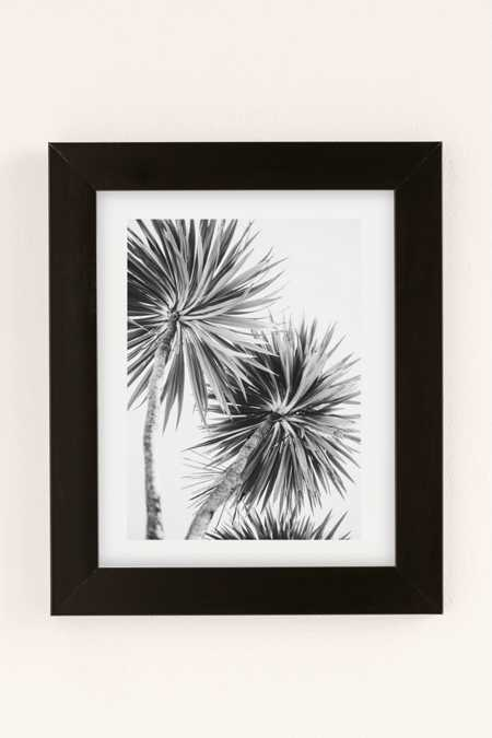 Kate Doherty Monochrome LA Palms Art Print