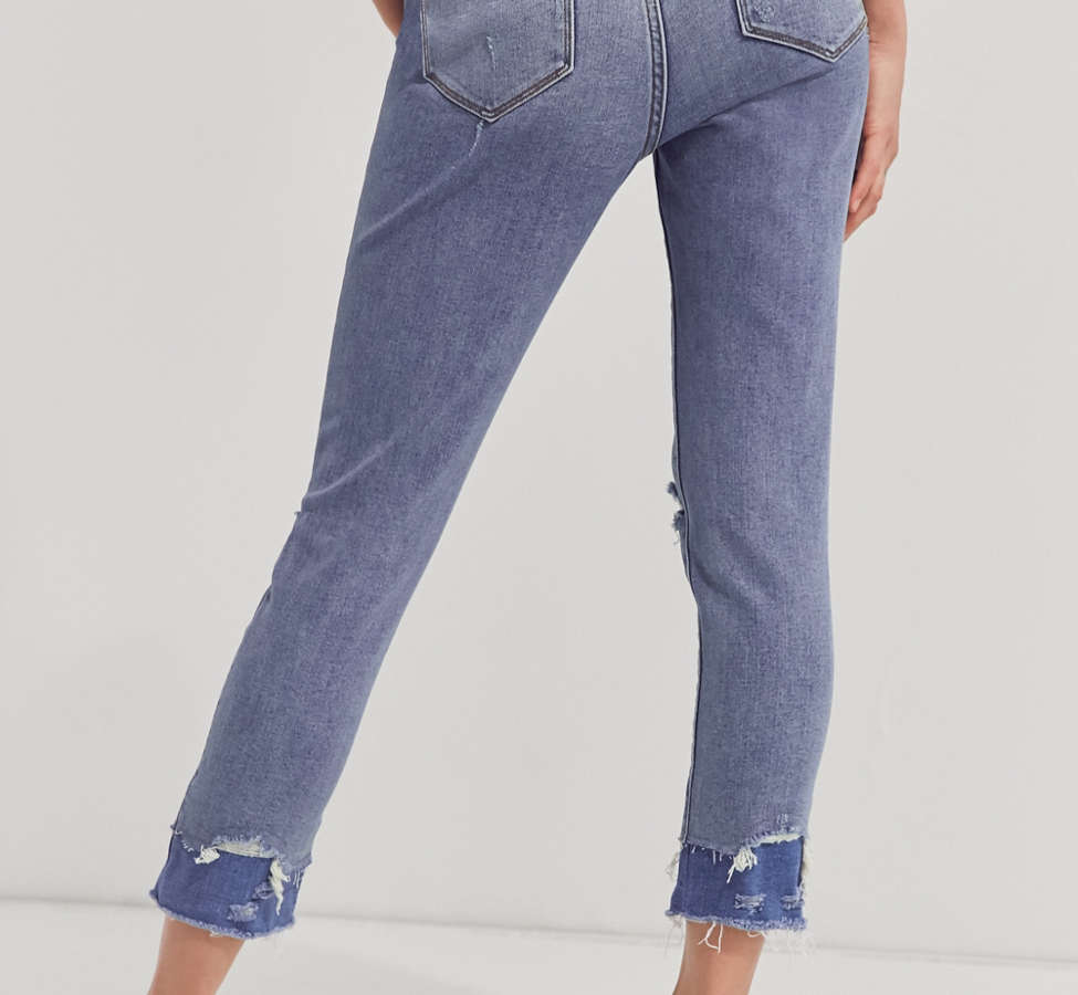 Slide View: 5: BDG Twig Crop High-Rise Skinny Jean - Double Vision