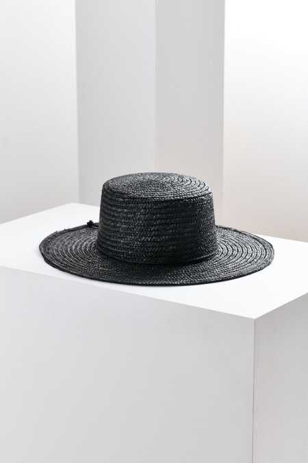 Vanessa Straw Boater Hat