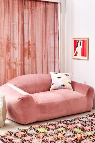 Beaumont Velvet Soft Sofa Urban Outfitters