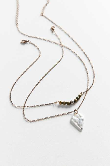 Sage Layering Necklace Set