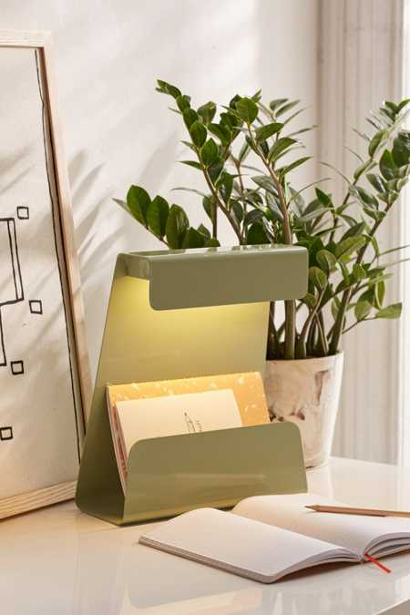 Everett LED File Desk Lamp