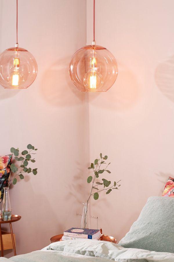 Emelle glass globe pendant light urban outfitters emelle glass globe pendant light aloadofball Choice Image