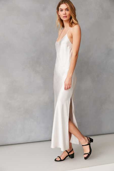 Bardot Pfeiffer Shine Maxi Slip Dress