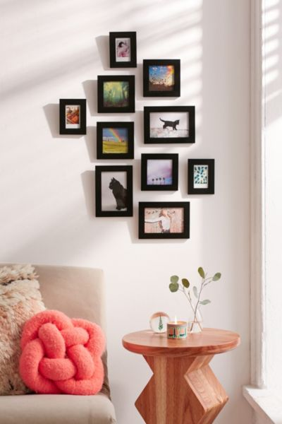 Instax + More Picture Frame Set - Black One Size at Urban Outfitters