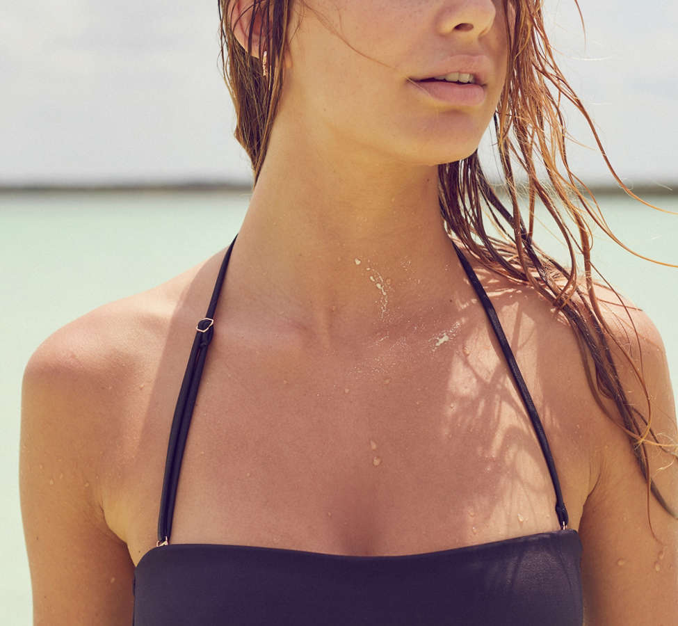 Slide View: 5: Out From Under Tie-Back Bandeau Bikini Top