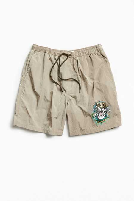 UO Tiger Nylon Slade Short