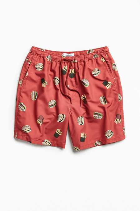 UO Burger And Fries Retro Short