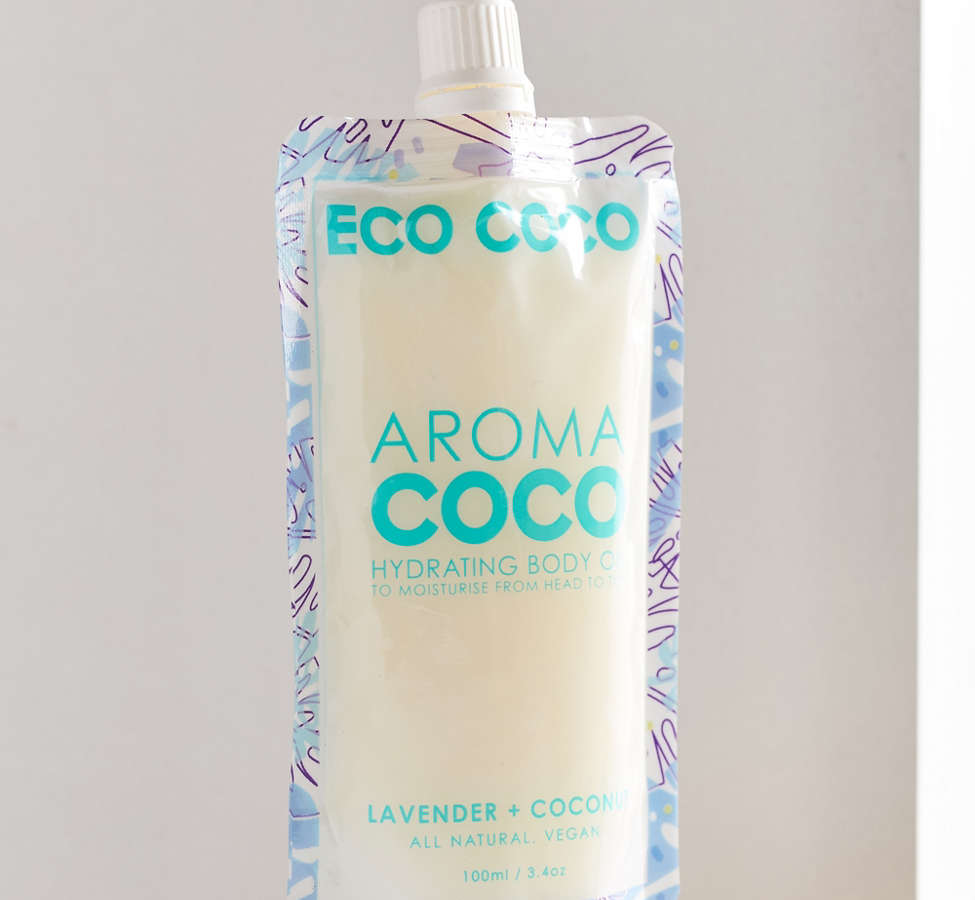 Slide View: 1: ECOCOCO Aroma Coconut Hydrating Body Oil