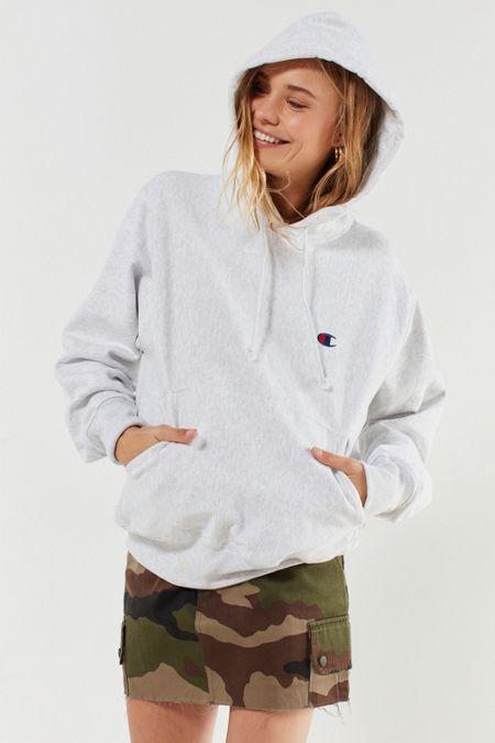 Champion Reverse Weave Logo Hoodie Sweatshirt bcc703790d