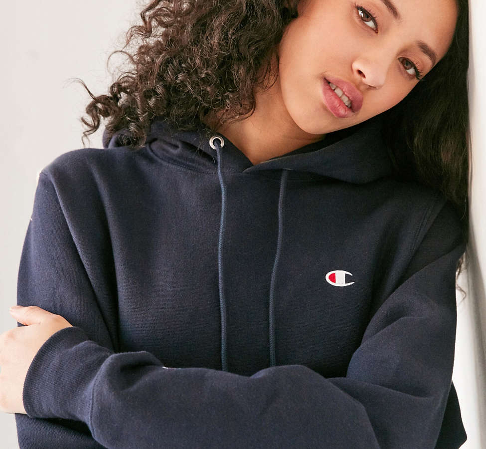 Slide View: 1: Champion Reverse Weave Hoodie Sweatshirt
