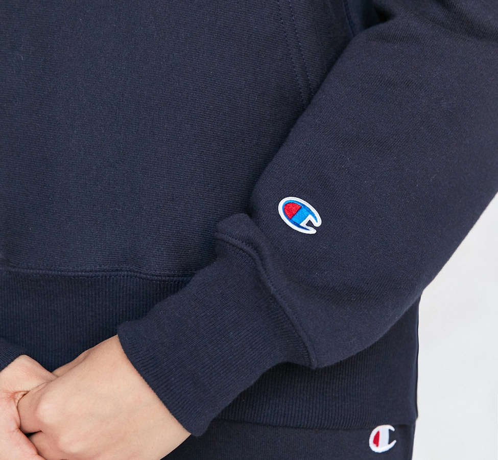 Slide View: 3: Champion Reverse Weave Hoodie Sweatshirt