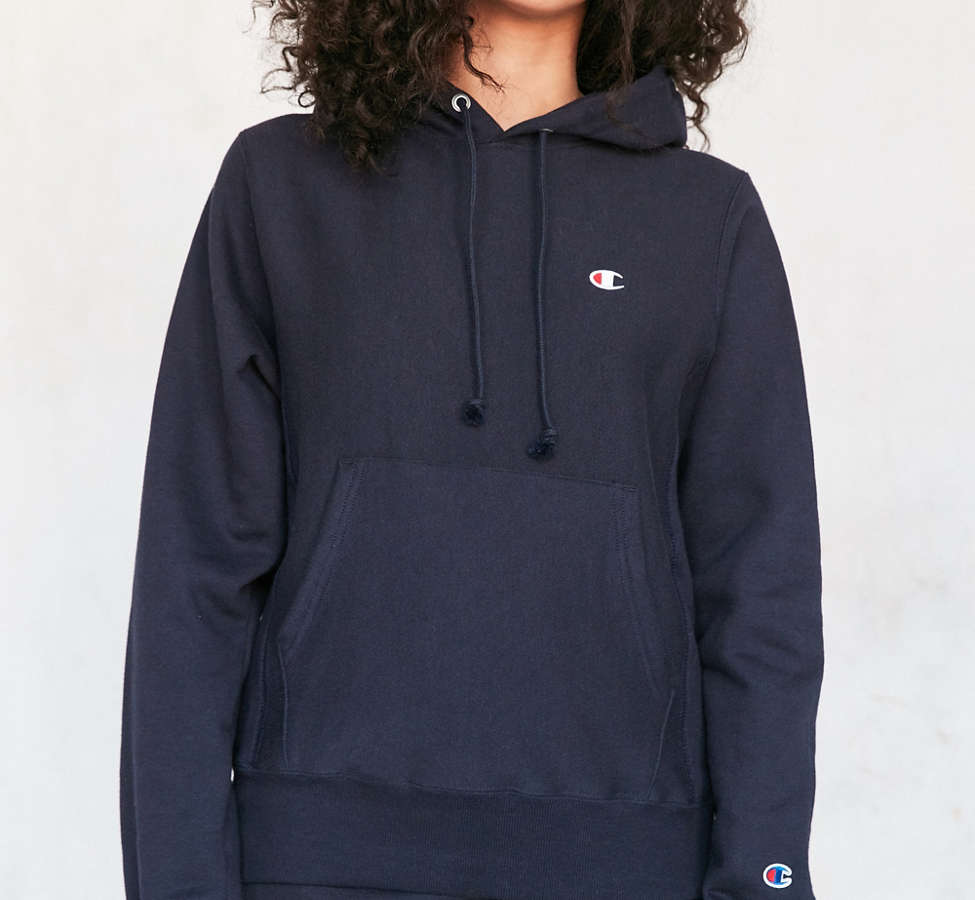Slide View: 6: Champion Reverse Weave Hoodie Sweatshirt