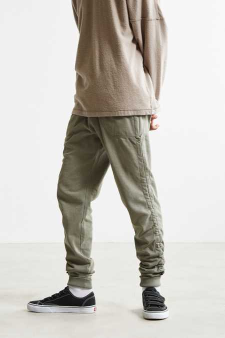 UO Stacked Adjustable Hem Jogger Pant