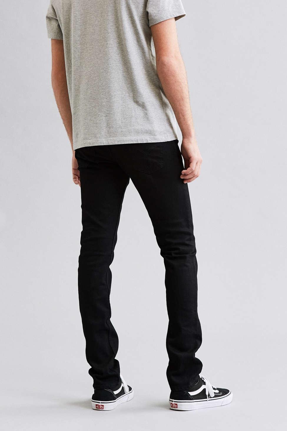 Calvin Klein Black Stretch Skinny Jean   Urban Outfitters
