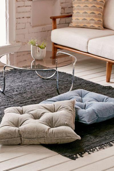 Denim Floor Pillow | Urban Outfitters